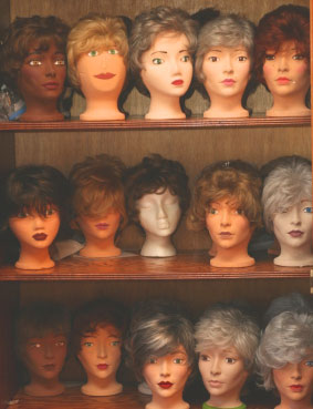 Wigs for baldness and hair loss in females / women